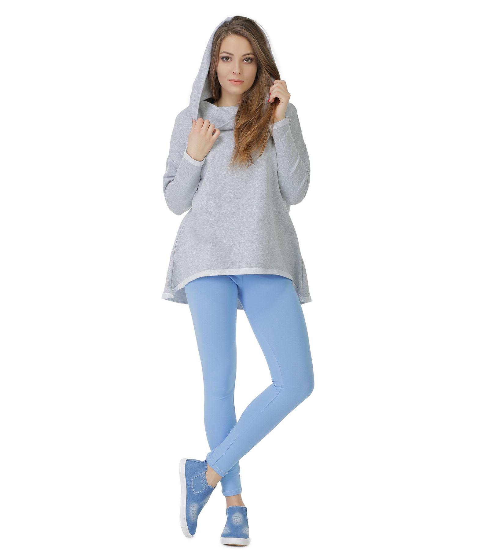 Niebieskie legginsy do kostki Bensini®
