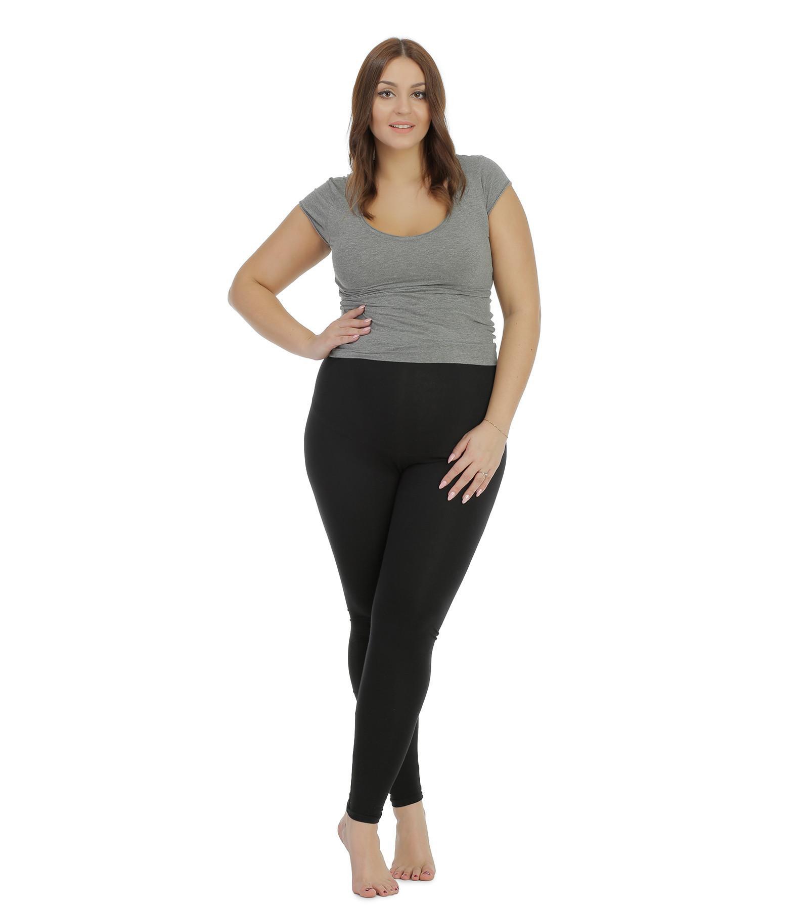 Czarne legginsy ciążowe Bensini
