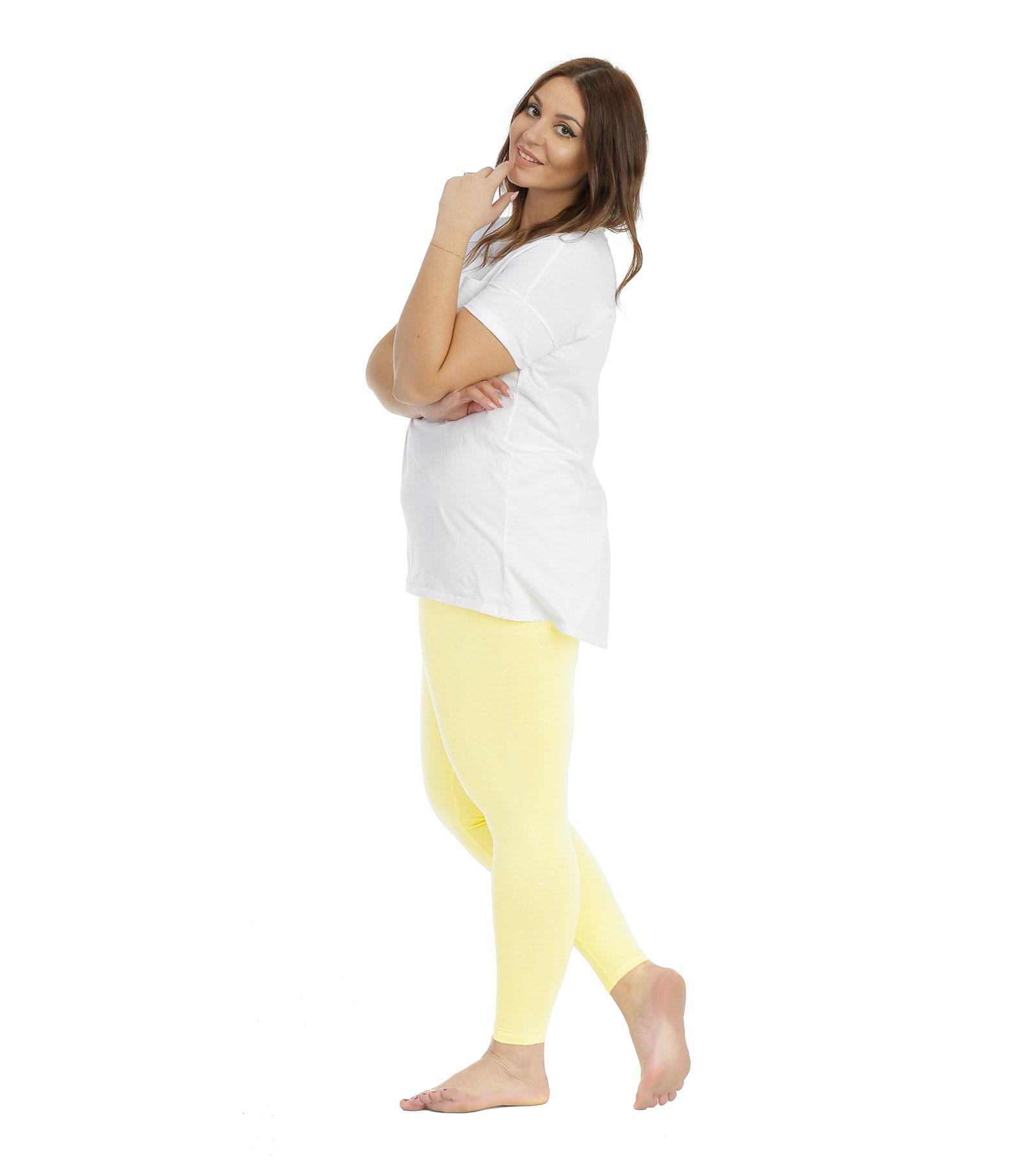 Legginsy damskie żółte plus size Bensini®