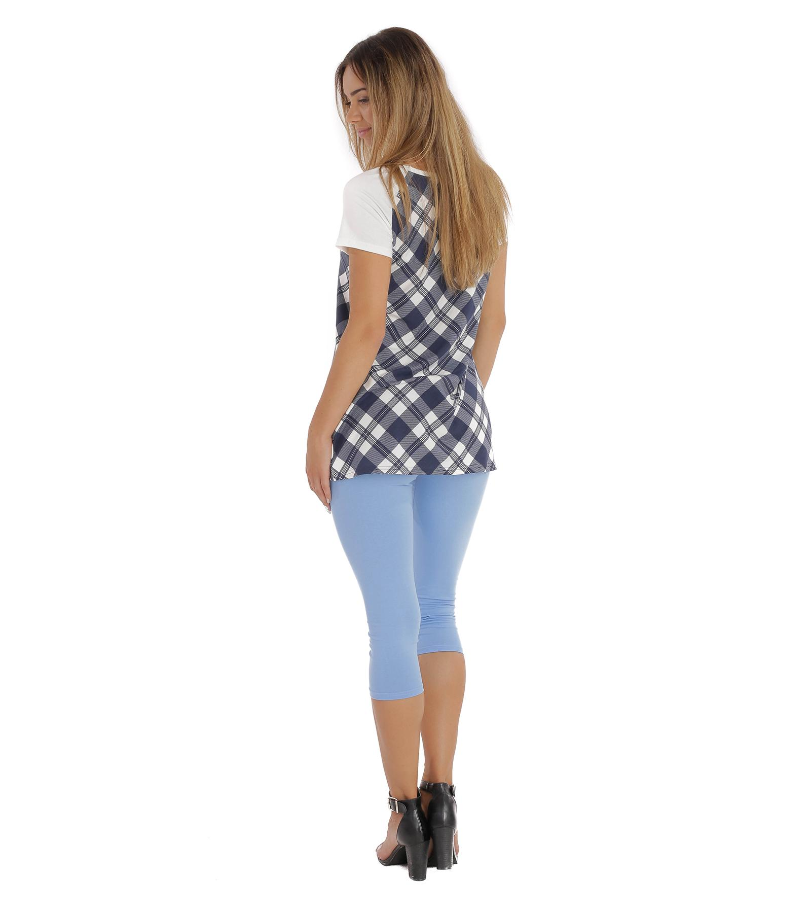 Niebieskie legginsy, rybaczki Bensini®