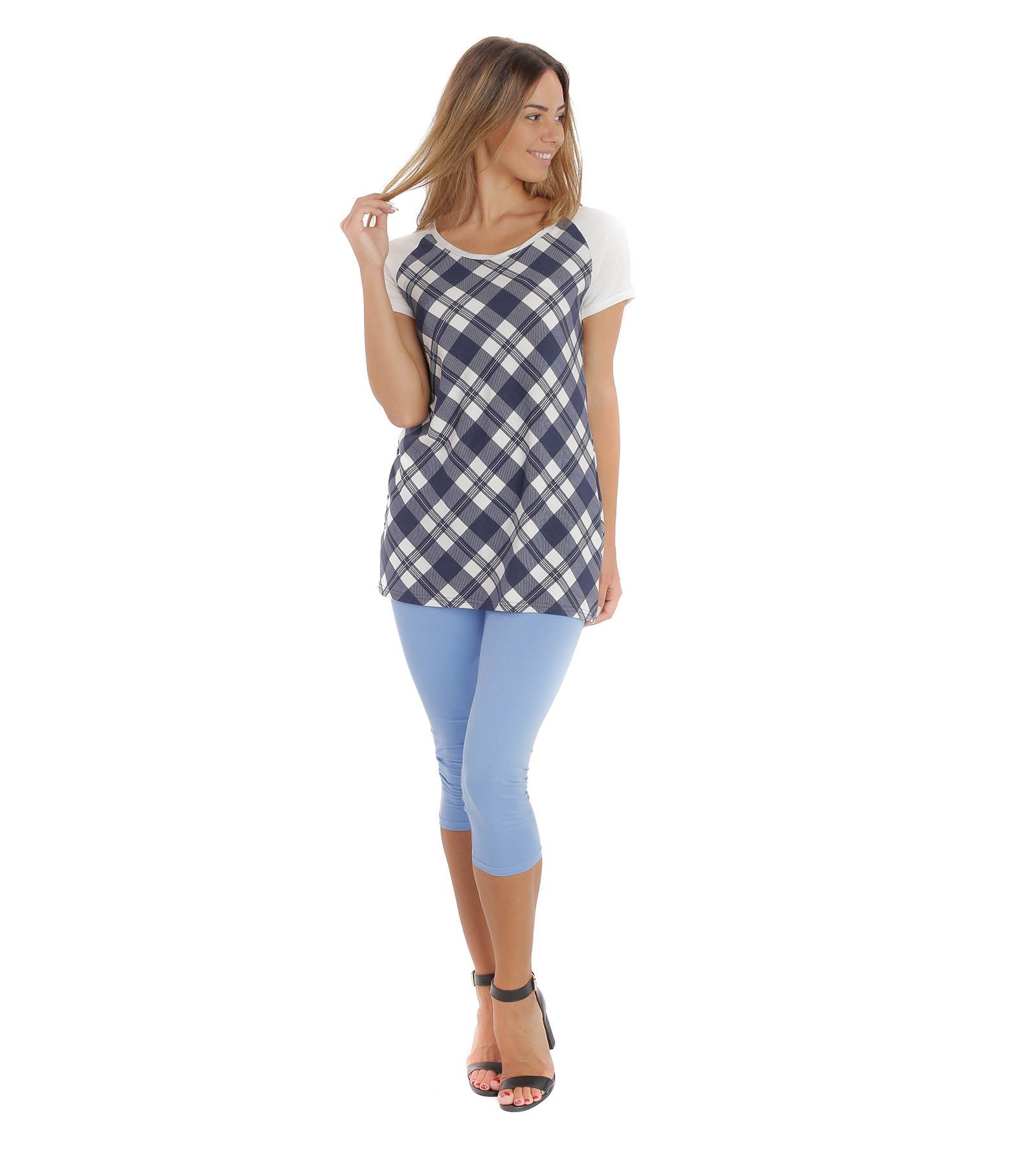 Niebieskie legginsy do łydek Bensini®