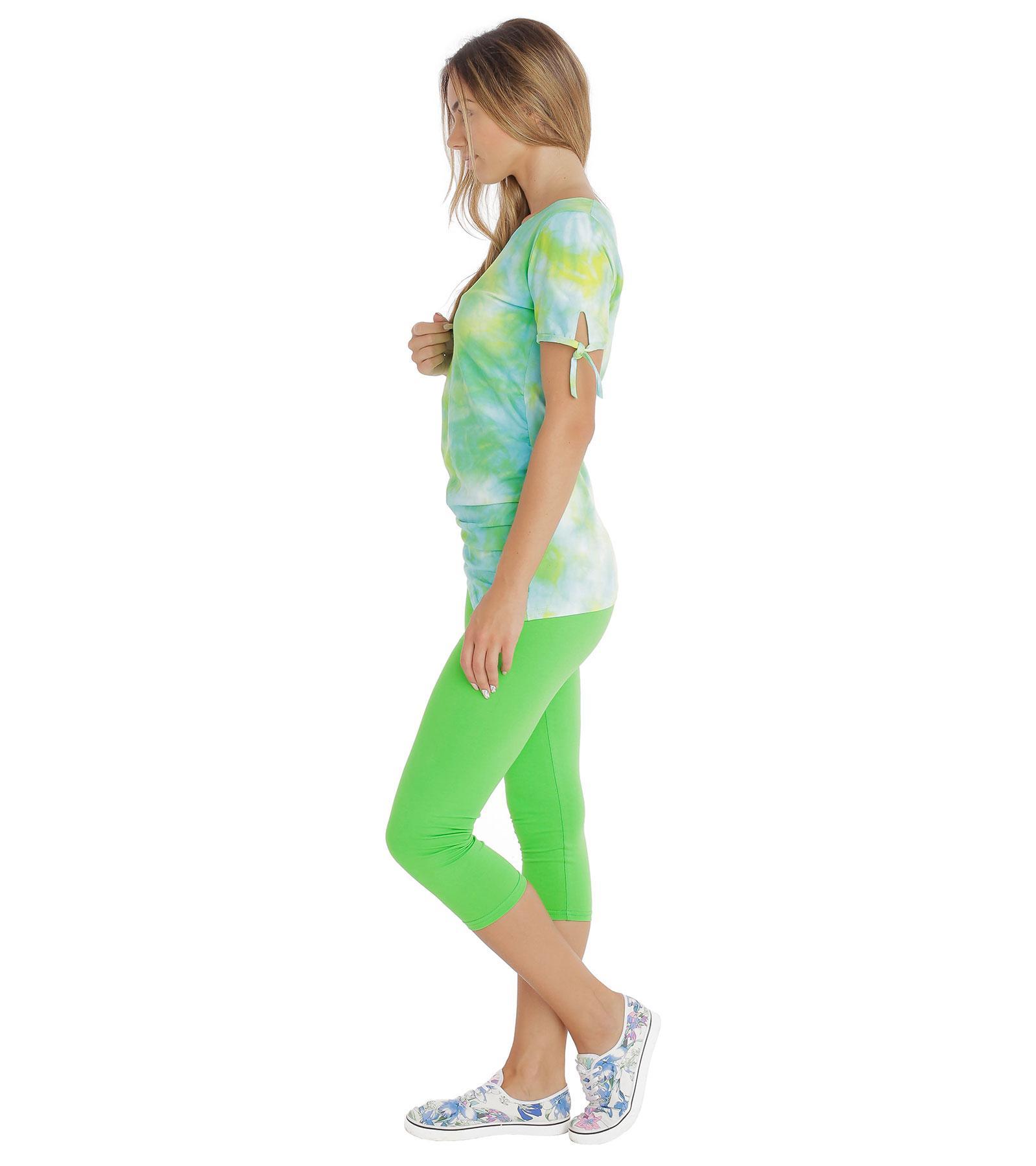 Zielone legginsy damskie Bensini®