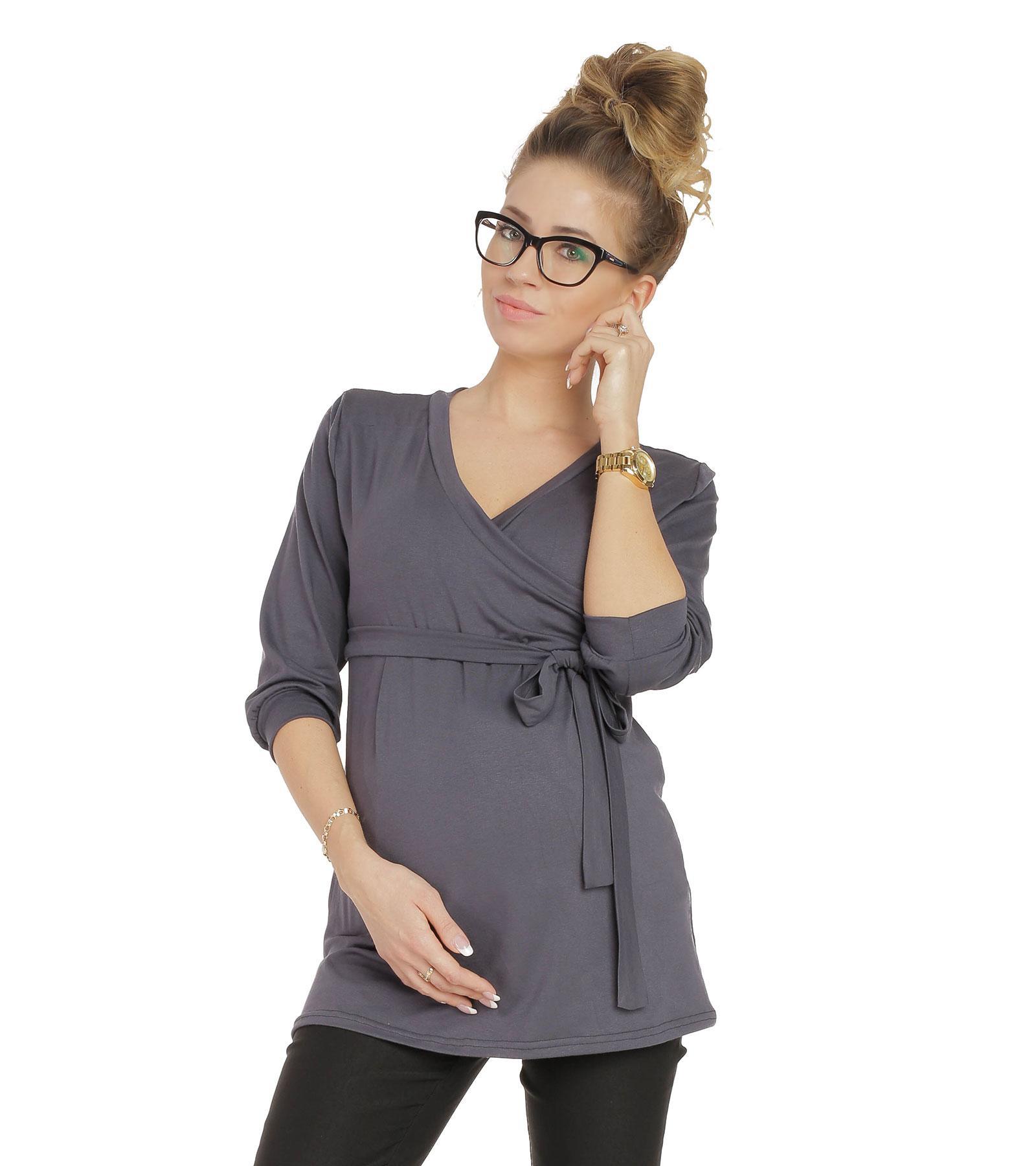 Bluzka ciążowa Dominika Gray Bensini®