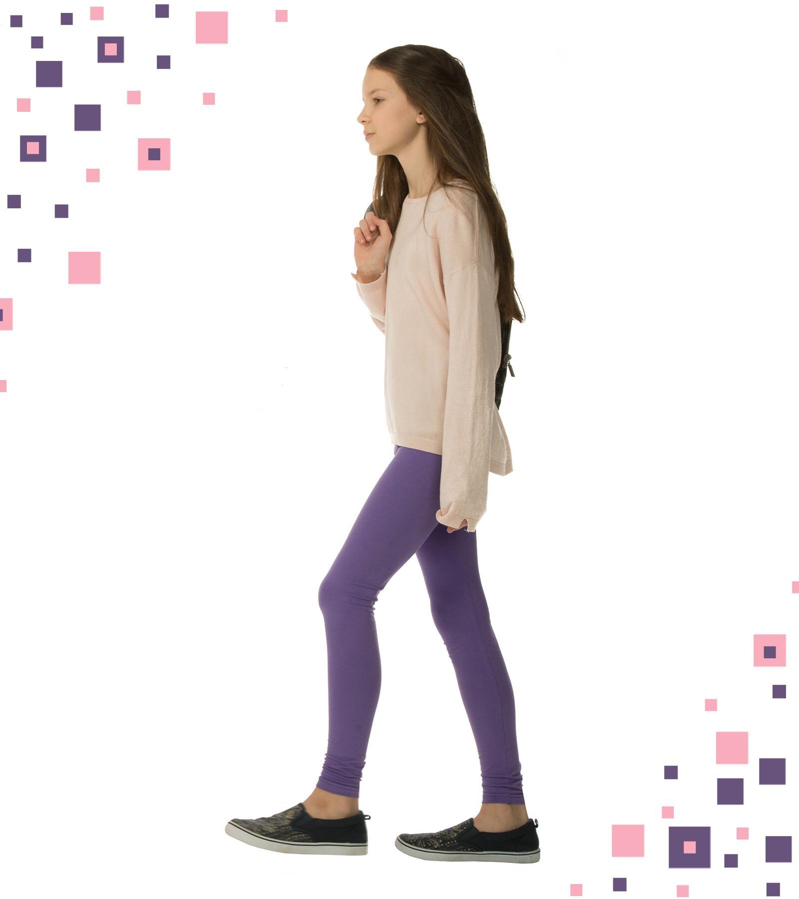 Fioletowe legginsy dziecięce Bensini ®