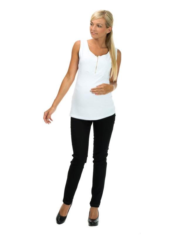 Spodnie z panelem ciążowym Lilia Bensini®