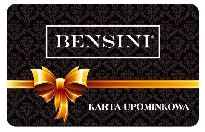 Karta upominkowa Bensini - wysyłka gratis