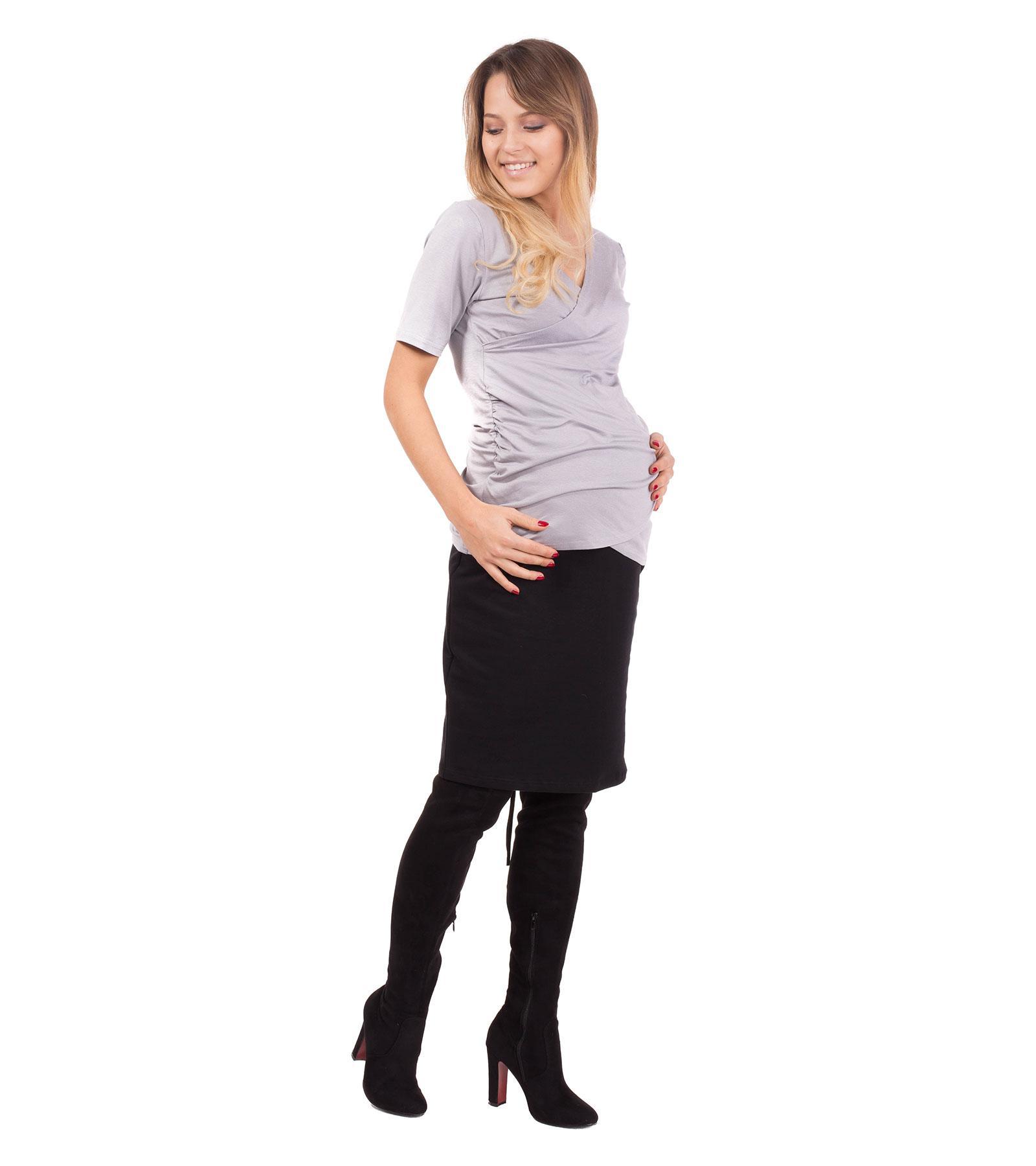 Czarna spódnica ciążowa Kelly Bensini®
