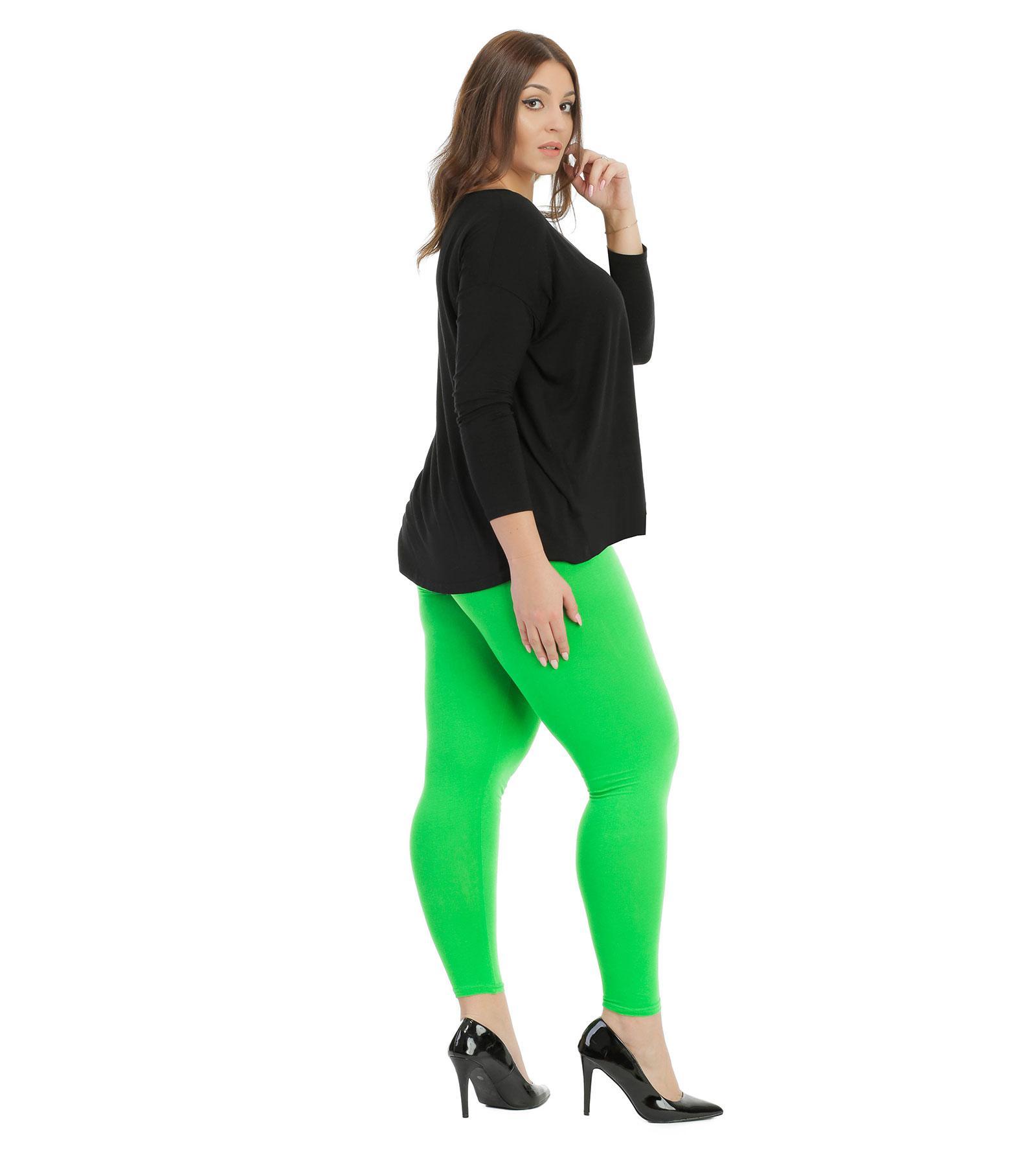 Zielone legginsy do kostki Bensini®