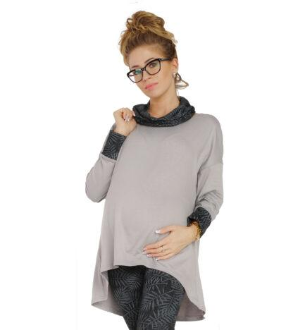 Bluzka ciążowa z golfem Megan BENSINI