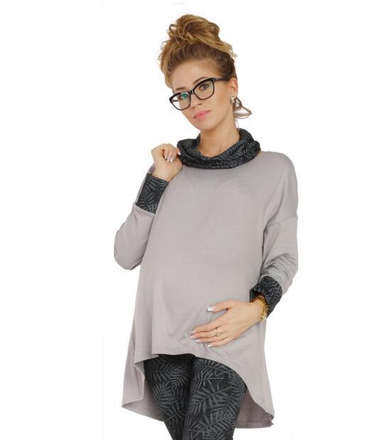 Tunika ciążowa Megan na długi rękaw