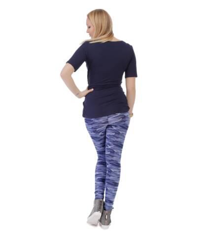 Wzorzyste legginsy ciążowe, Demi Bensini