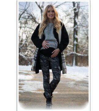 Ocieplane legginsy ciążowe Tina Bensini®