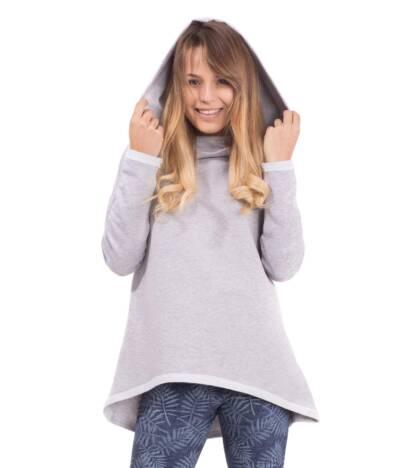 Bluzka ciążowa z kapturem Vicky Bensini