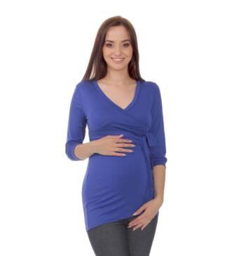 Chabrowa bluzka ciążowa Dominika Bensini®