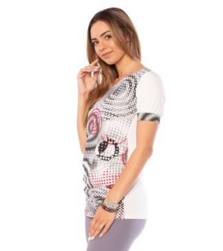 Kolorowa bluzka ciążowa Natalia Bensini