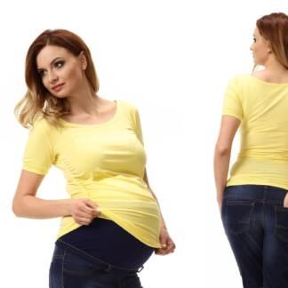 Żółta bluzka ciążowa Sonia Bensini