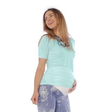 Miętowa bluzka ciążowa Bensini
