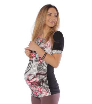 Bluzka - tunika ciążowa Natalia Black Bensini