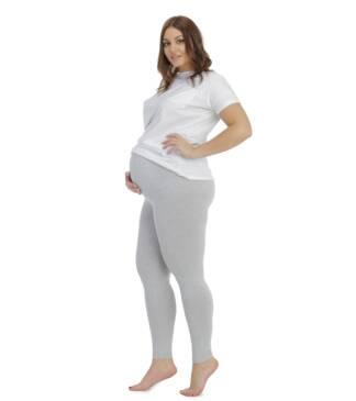 Szare legginsy ciążowe Classic Bensini®