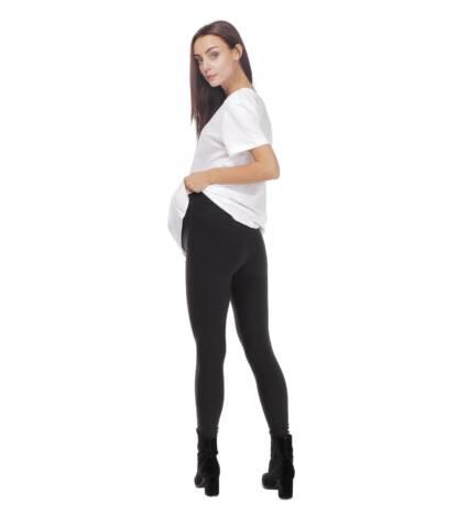 Czarne legginsy ciążowe Exclusive Bensini®