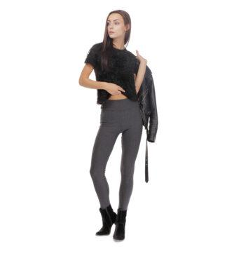 Ocieplane, wyszczuplające legginsy z wysokim stanem Sara Bensini