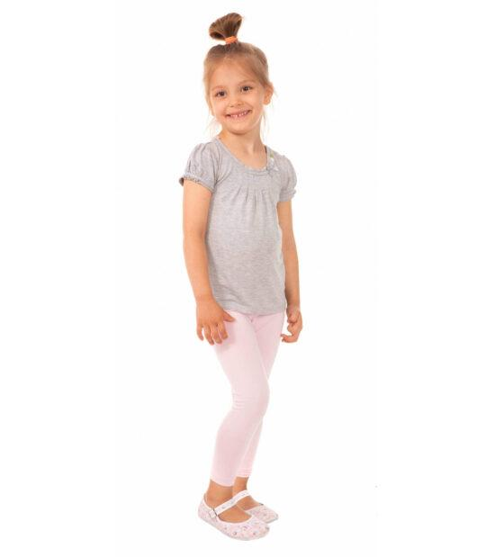 Różowe legginsy dziecięce