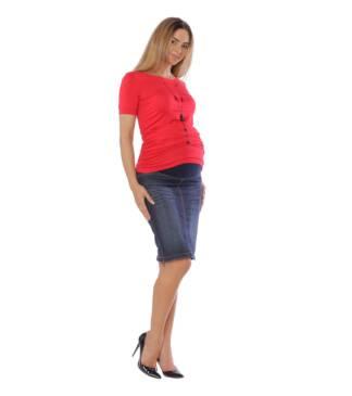 Spódnica ciążowa z pasem ciążowym Klara Bensini