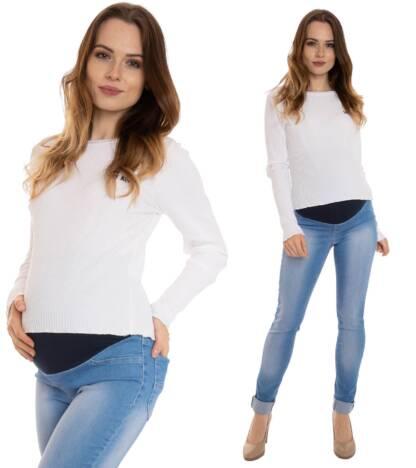 Jeansowe spodnie ciążowe Oxana Bensini®