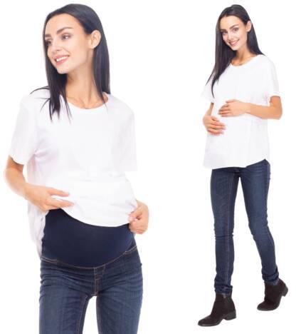 spodnie ciazowe jeansowe susan bensini