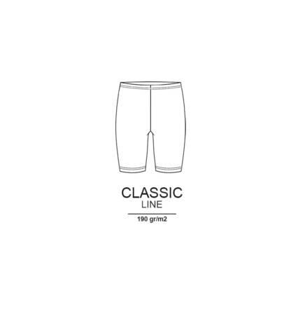 Bensini krótkie legginsy dziecięce legginsy damskie klasyczne legginsy z wysokim stanem bawełna getry