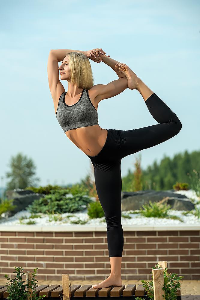 Legginsy damskie Fitness Joga Bensini
