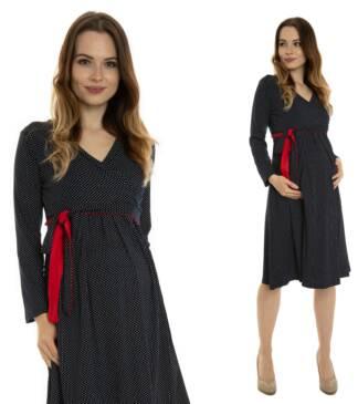 sukienka ciazowa ariel red
