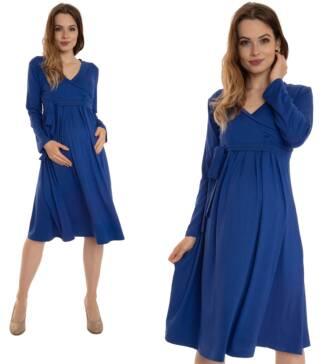 Chabrowa sukienka ciążowa Blanka Bensini®