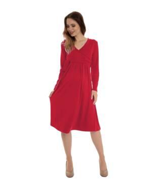Czerwona sukienka ciążowa Blanka Bensini®