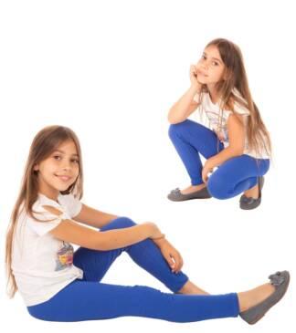 Chabrowe legginsy dziewczęce Bensini