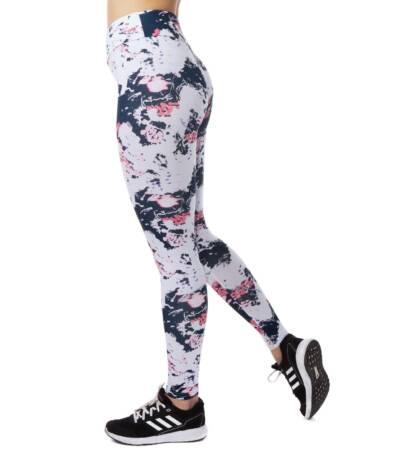 legginsy sportowe fitness bieganie pink bensini