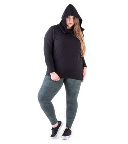 Bensini Bluza damska Dave Over Size czarna