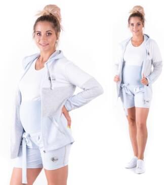 Krótkie spodenki ciążowe Galla Baby Blue Bensini