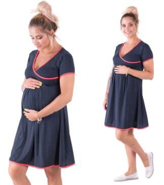 Sukienka ciążowa Stella w stylu pin-up Bensini