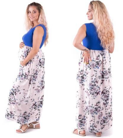 Sukienka ciążowa Violetta chaber Bensini