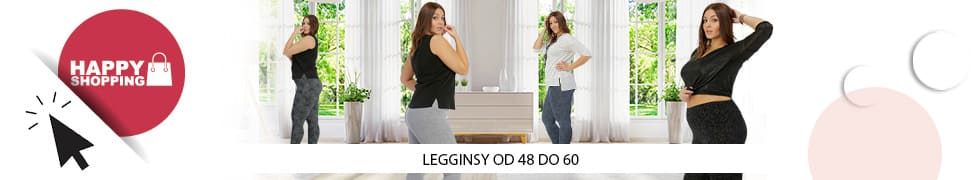 Legginsy plus size legginsy w duzych rozmiarach